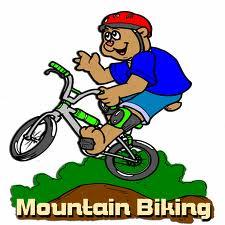 mountain biker cartoon