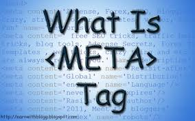 what is meta tag blue