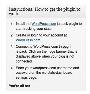 WP instructions