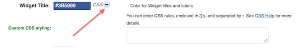 weaver css+styling