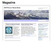 Weaver Magazine Subtheme