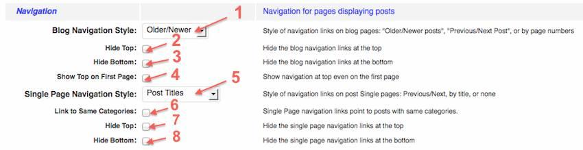 weaver post navigation