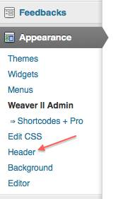 weaver header