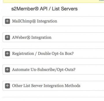 list servers