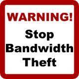 hotlink warning
