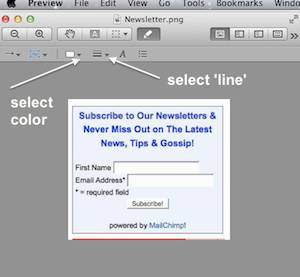 select line